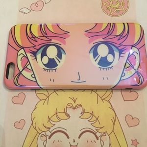Accessories - Sailor Moon pretty pink super glossy iPhone case